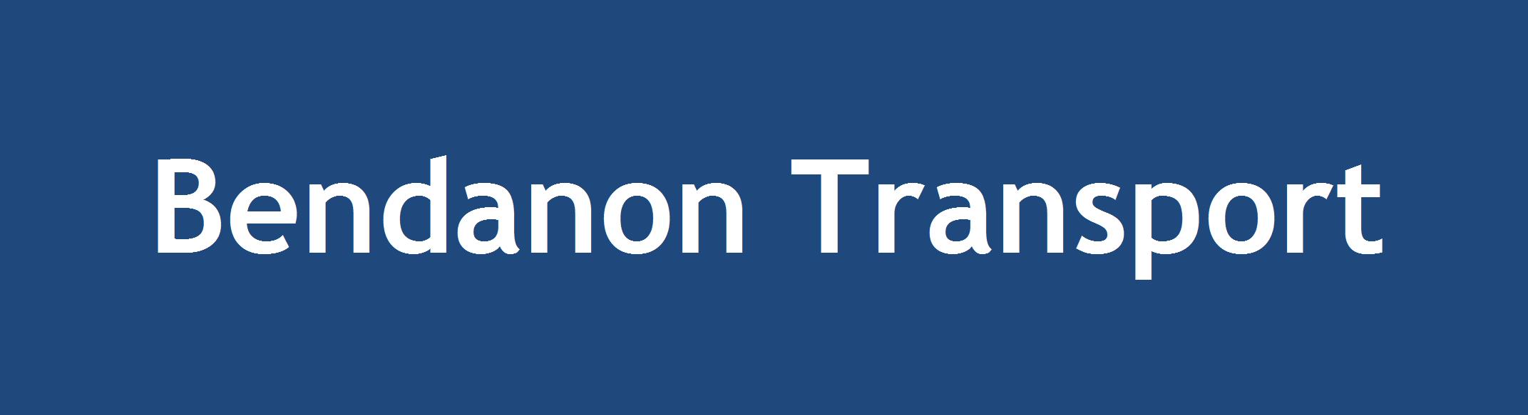 Bendanon Transport Logo