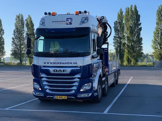 Bendanon Autolaadkraan Vrachtwagen